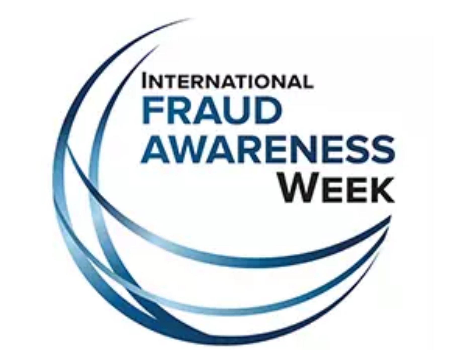 Fraud awareness week logo
