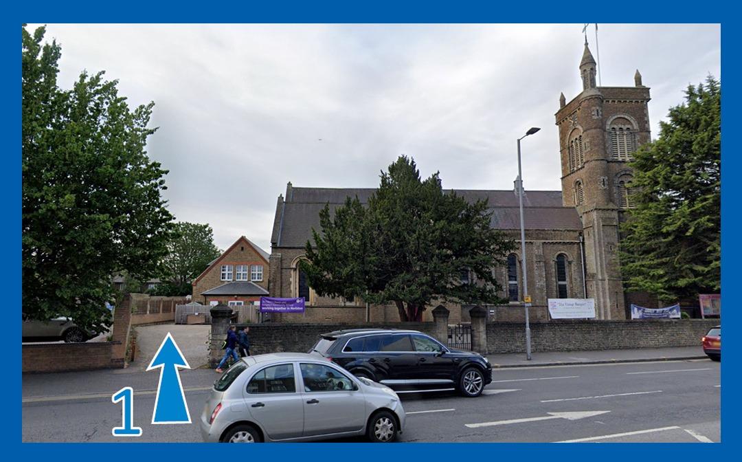 St Peter's Church car park